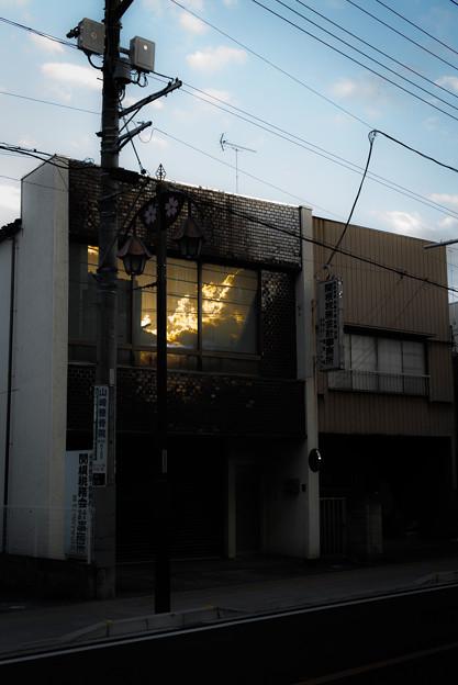 御成街道の窓@幸手