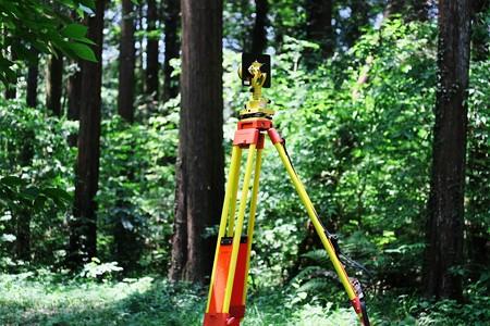 2017.05.23 追分市民の森 測量