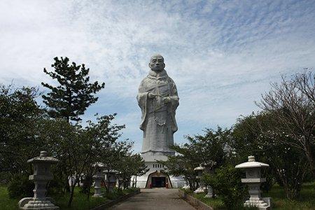 2009.08.15 新潟 親鸞聖人象