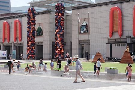 2017.08.09 横浜美術館 ヨコハマトリエンナーレ2017 水遊び