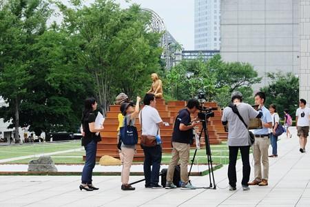 2017.08.09 横浜美術館 ヨコハマトリエンナーレ2017 動画作成風景