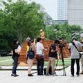 写真: 2017.08.09 横浜美術館 ヨコハマトリエンナーレ2017 動画作成風景