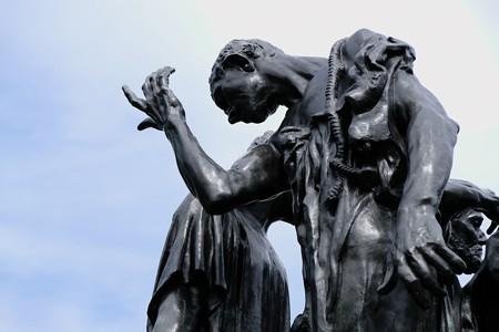 2017.10.24 国立西洋美術館 カレーの市民 ロダン、オーギュスト