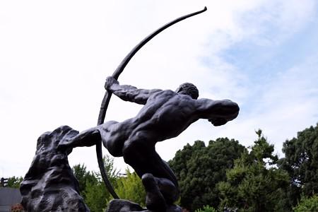 2017.10.24 国立西洋美術館 弓をひくヘラクレス アントワーヌ・ブールデル