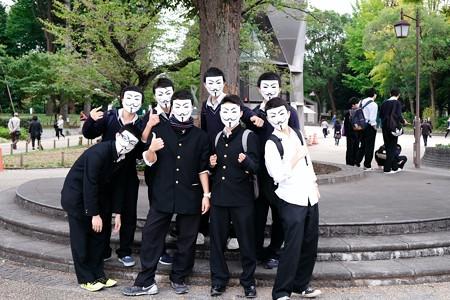 20172017.10.24 上野公園 修学旅行 交友