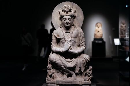 20172017.10.24 東京国立博物館 交脚菩薩像 パキスタン・ガンダーラ TC-82