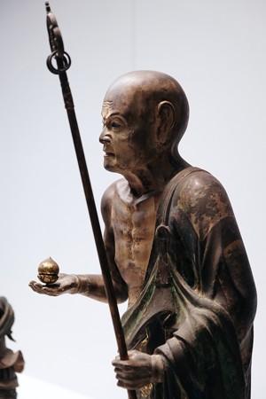 2017.10.24 東京国立博物館 仏陀波利三蔵立像 C-1854-5