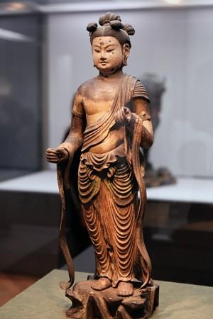 20172017.10.24 東京国立博物館 文殊菩薩立像 C-23