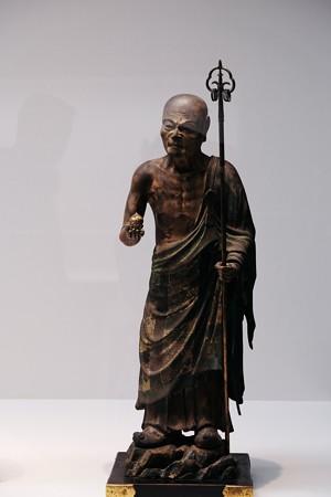 2017.10.24 東京国立博物館 仏陀波利三蔵立像 全体 C-1854-5