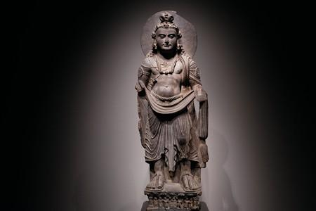 2017.10.24 東京国立博物館 菩薩立像 パキスタン・ガンダーラ