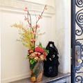 Photos: 2017.10.30 ベーリック・ホール Halloweenの玄関 生花