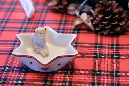 2017.12.12 山手西洋館 ブラフ18番館 世界のクリスマス ドイツ 食卓 天使