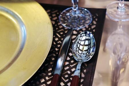 2017.12.12 山手西洋館 ベーリック・ホール 世界のクリスマス オランダ 食卓のスプーン