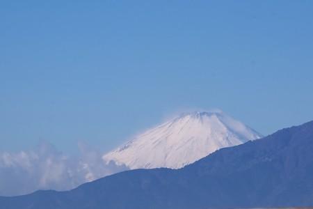 2017.12.25 駅前 富士山