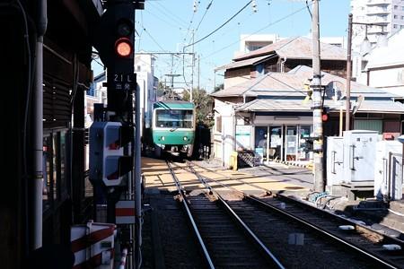 2017.12.28 江ノ電 江ノ島駅