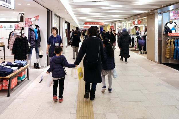 2018.01.03 横浜 ダイヤモンド地下街