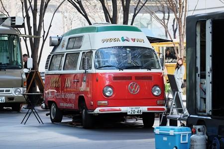 2018.01.04 東京国際フォーラム ネオ屋台村 PIZZA VAN
