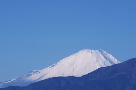 2018.01.14 駅前 富士山