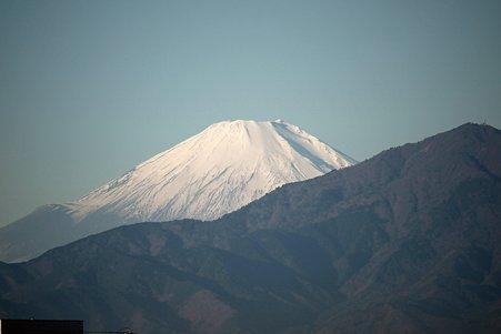 2010.12.17 散歩道 富士山