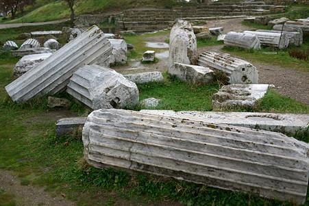 2011.01.22 トルコ イリオス 古代遺跡