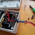 Photos: 充電器修理