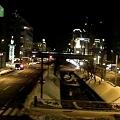 札幌新石狩街道(真中は創成川で遠くはjk・・・・・・・・・・jr