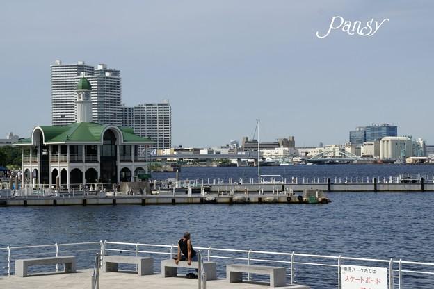 Photos: 海辺のベンチ・・