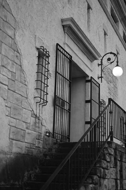 写真: 静かな入口