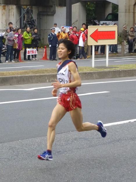 陸上日本代表 鈴木亜由子選手