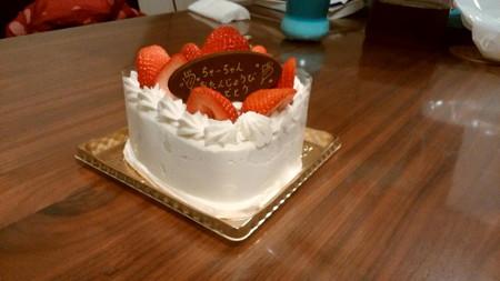 170418BDケーキ