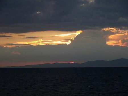 170801夕陽