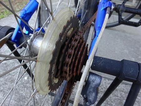 171101-1自転車の錆び
