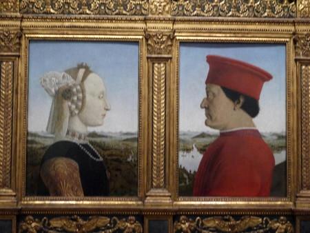 180111-06ウルビーノ公夫妻の肖像