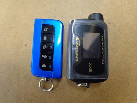 WRX STI スペックC R205 セキュリティ取付 リモコン