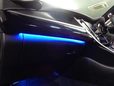 ハリアー60系 東京都 助手席側間接照明