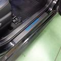 Photos: トヨタAQUA 神奈川県 傷防止カーボンシート施工