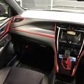 ハリアー60系 内装 カット済みレッドシートで手軽にドレスアップ! 試作品貼り込み