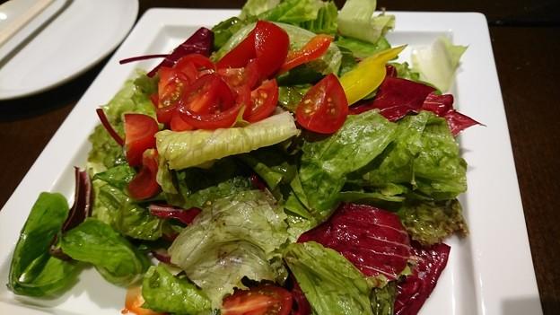 いろどり野菜のグリーンサラダ