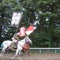 写真: '12  甲冑競馬