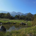 写真: '16秋旅 北尾根高原から白馬三山を臨む