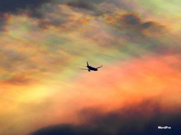 「虹空へ飛行中ならメールくれ」