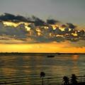Photos: マニラ湾の夕陽