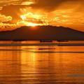Photos: マリベレス山の夕陽