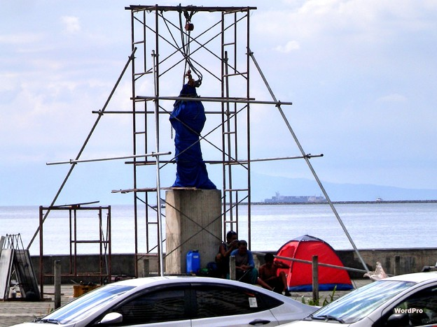 フィリピン慰安婦像建立