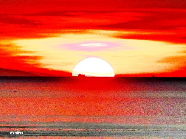 マニラ湾夕日