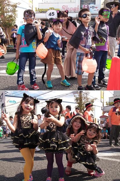 写真: ハロウィン仮装パレード *b