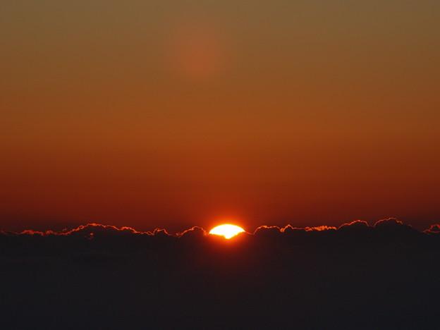 雲上の初日の出