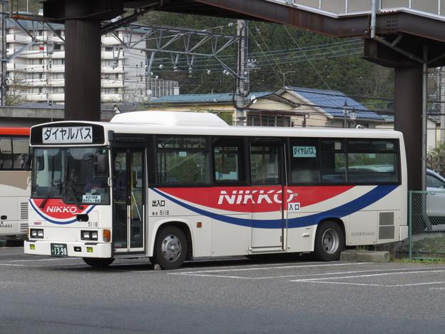 【日光交通】 5118号車