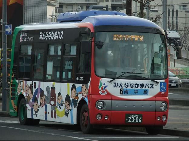 【国際興業/みんななかまバス】 790号車