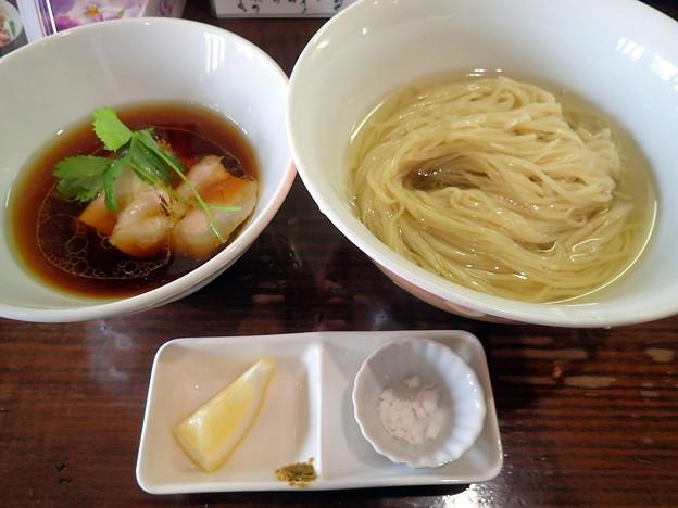 とろとろ昆布出汁のからませつけ麺@サンド・盛岡市